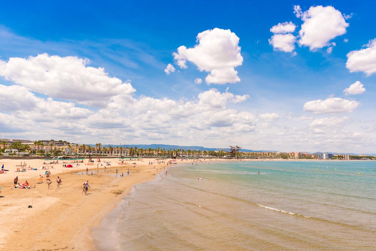 plaża na Costa Dorada