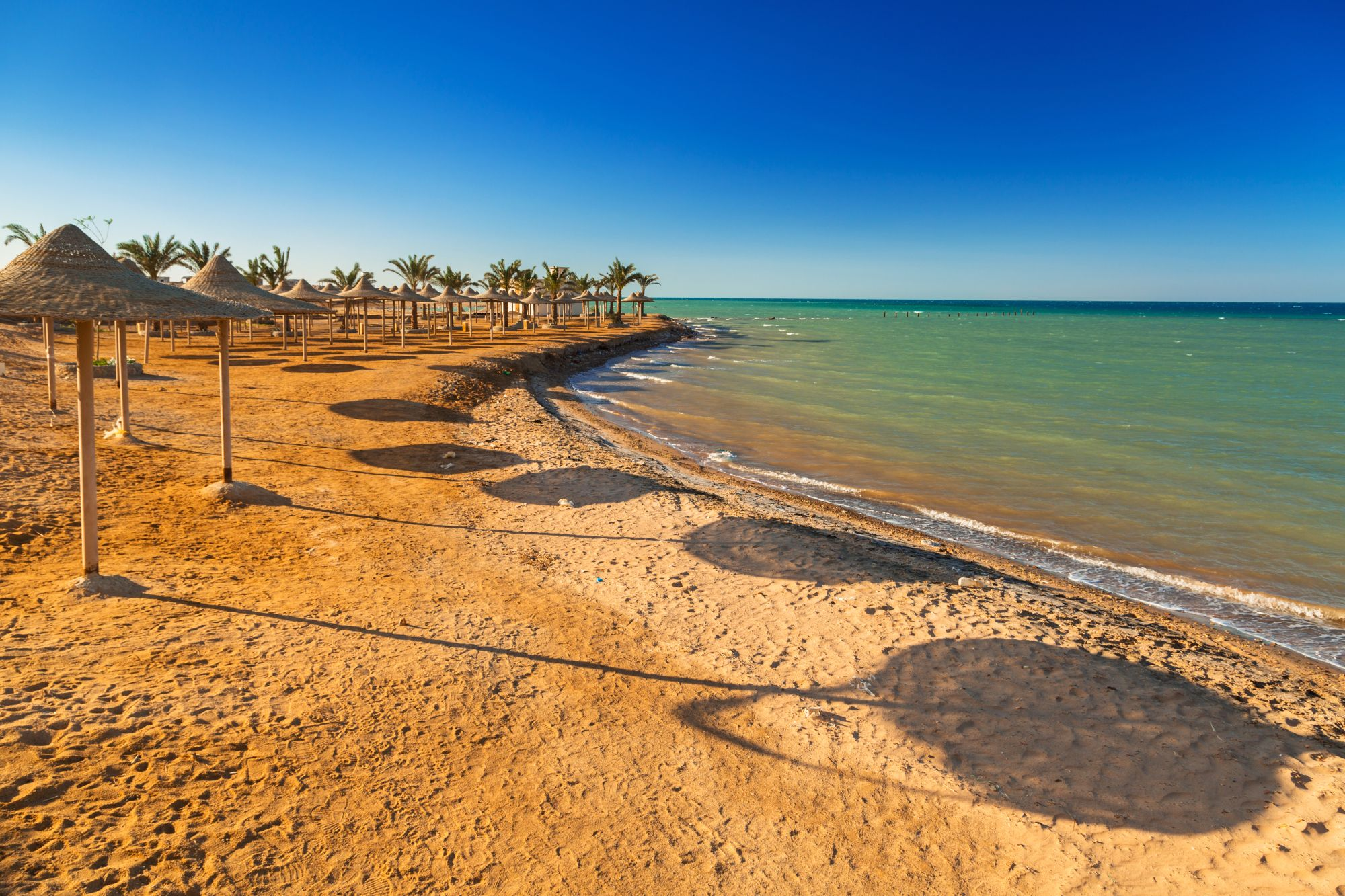 Hurghada widok plaży