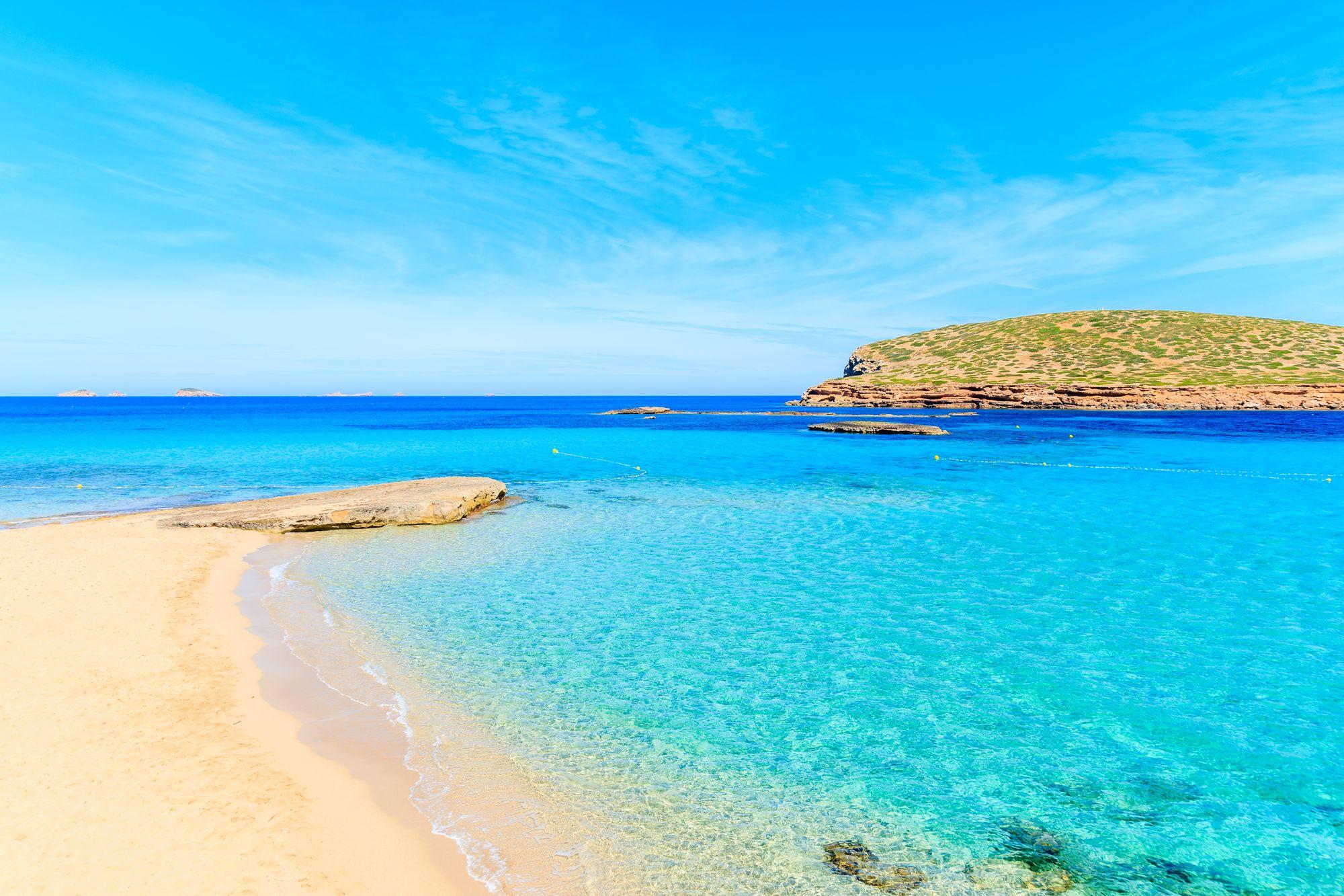 Ibiza widok plaży