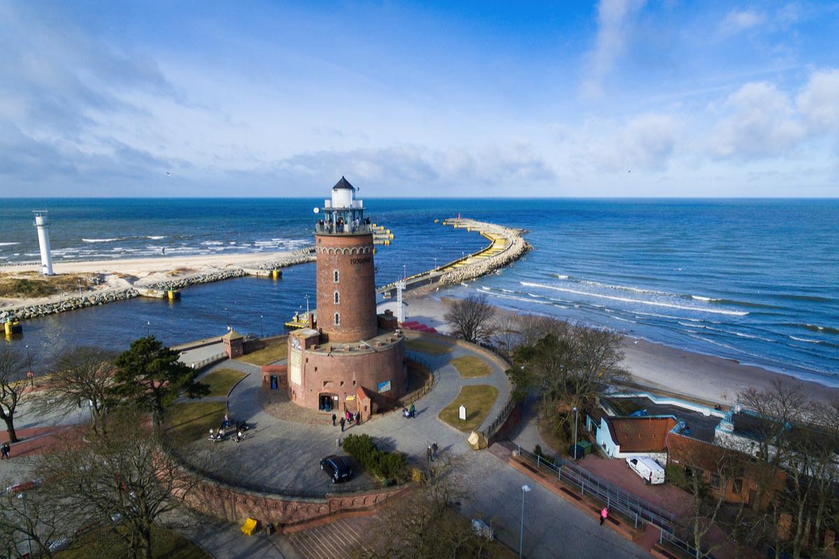 latarnia w Kołobrzegu
