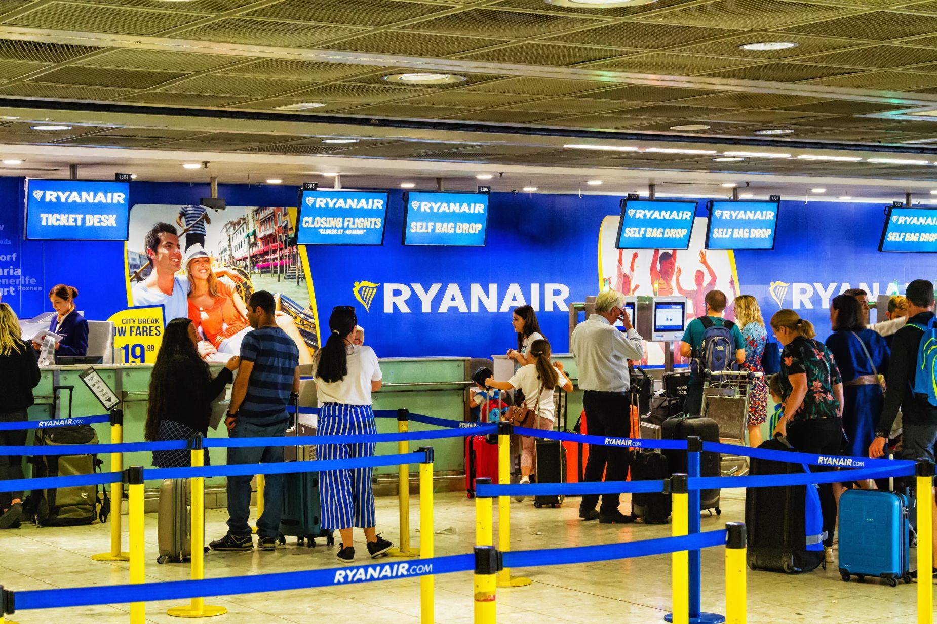 Bagaż w Ryanair