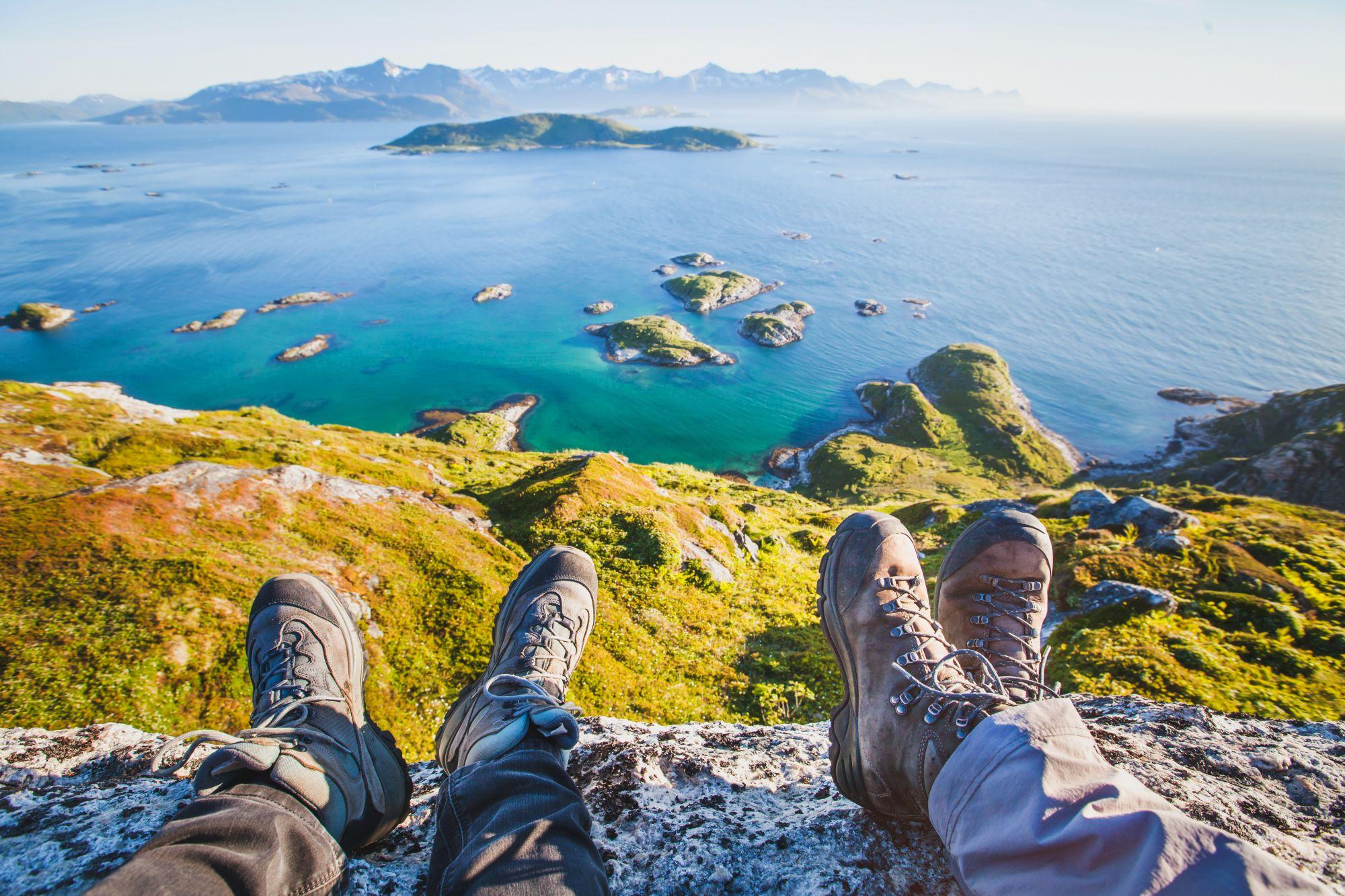 Norwegia widok fiordu