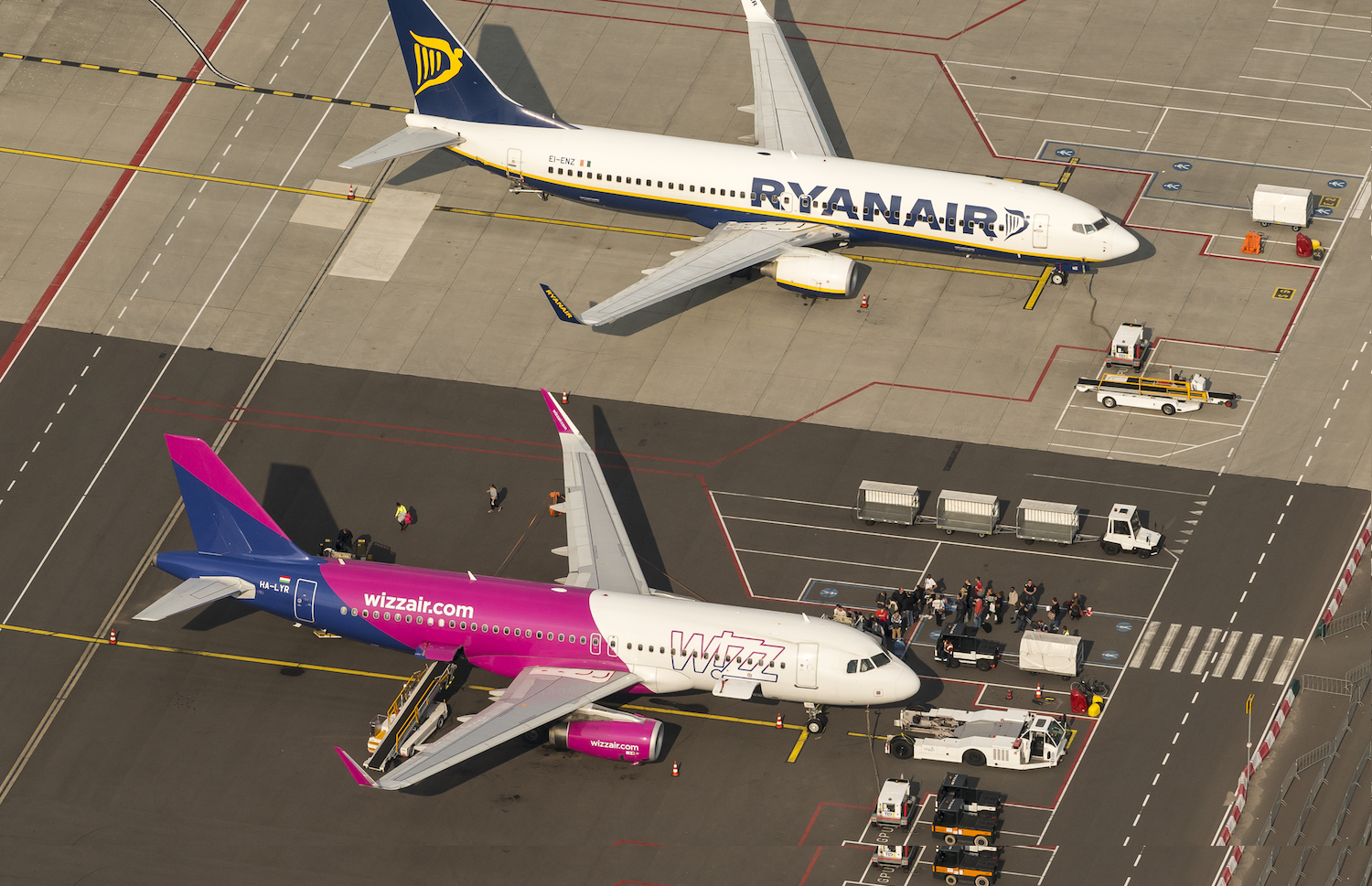 Ryanair Wizz Air