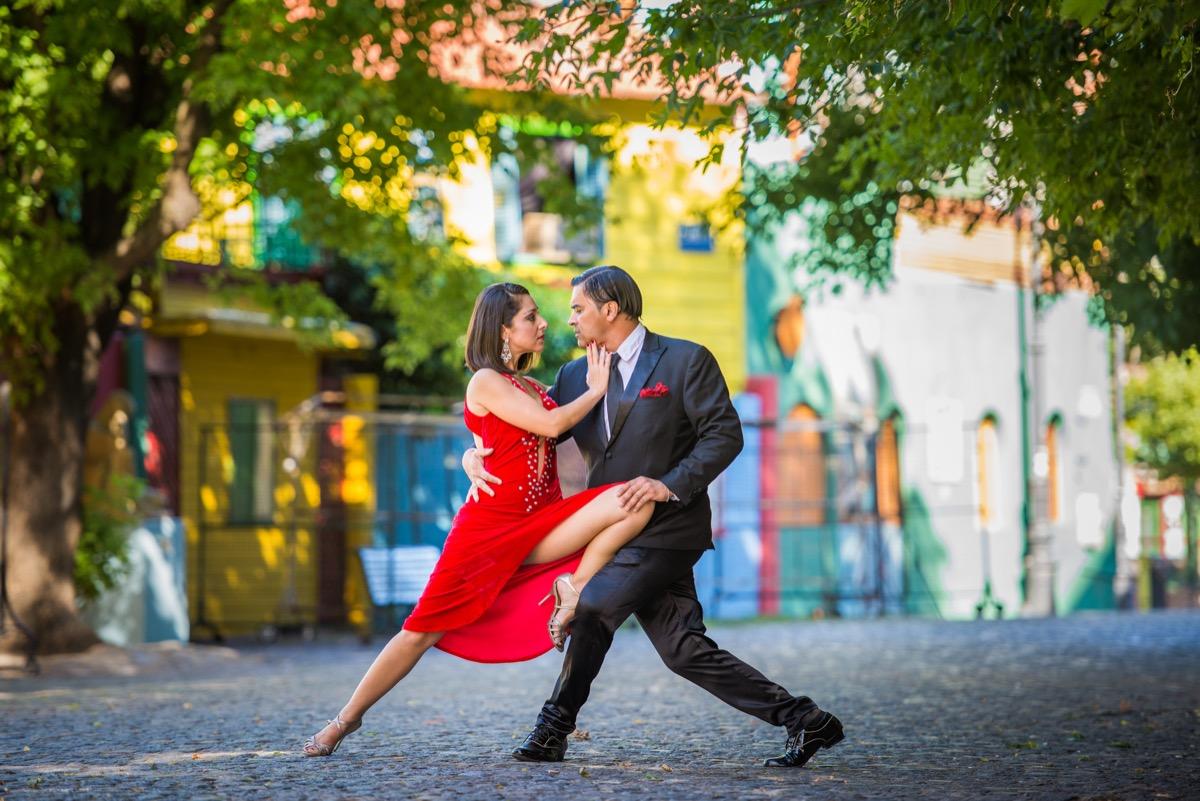 tango w argentynie
