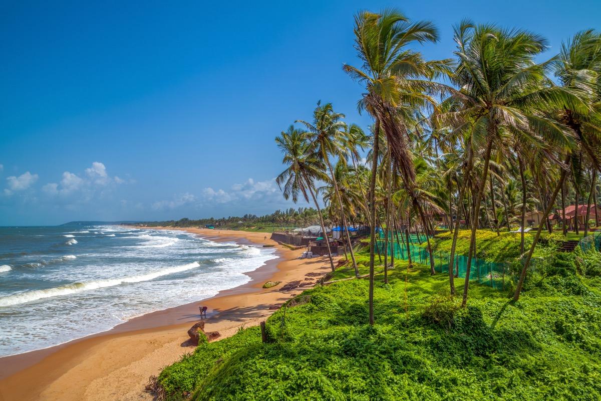 plaża na goa