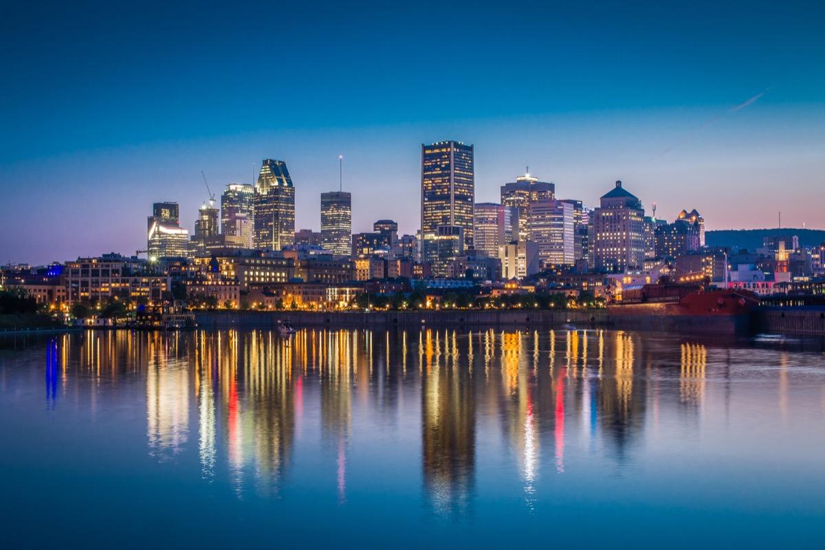 montreal widok na miasto