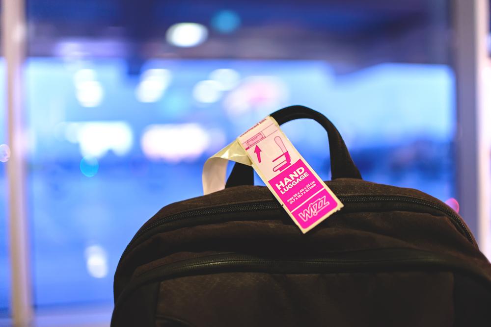 bagaż podręczny wizz air