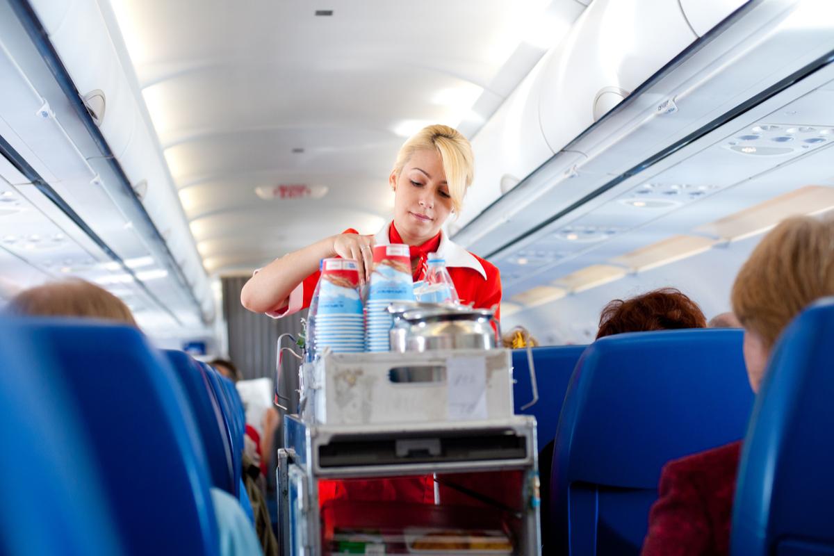 aeroflot stewardesa