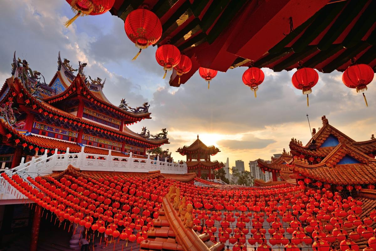Kuala Lumpur chińska świątynia