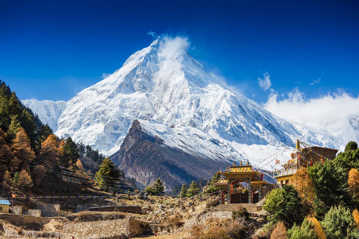 Nepal góry