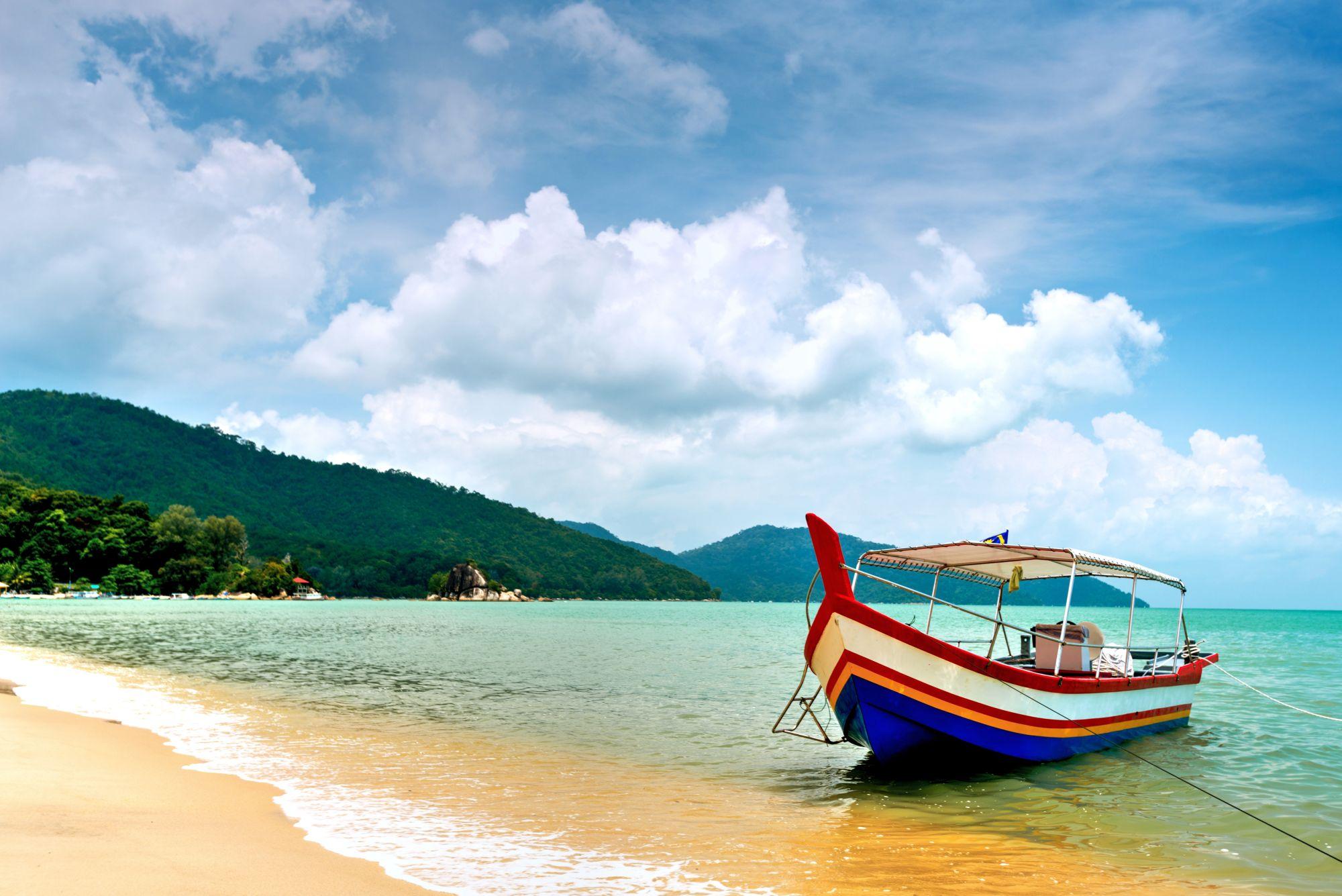 Penang widok plaży