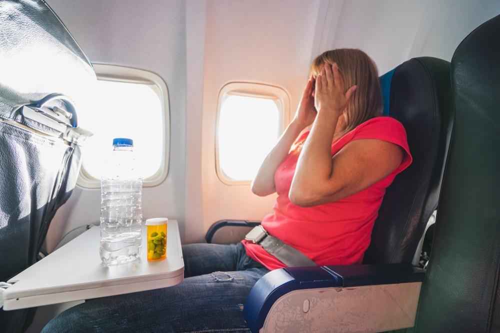Problemy w samolocie