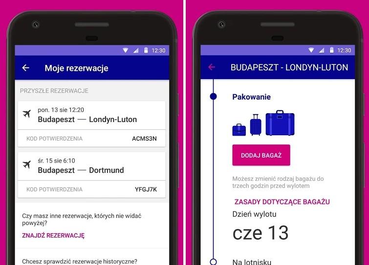 Aplikacja Wizz Air