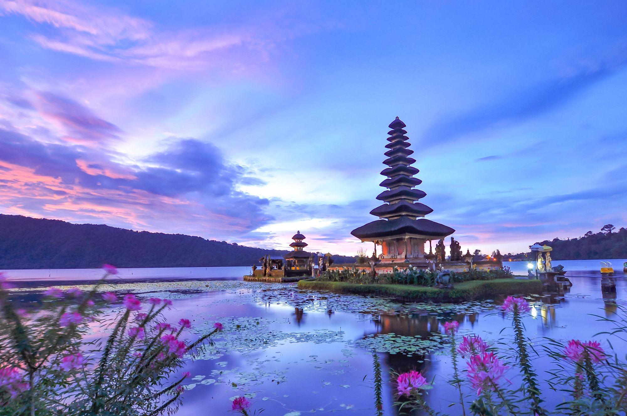 Bali widok świątyni