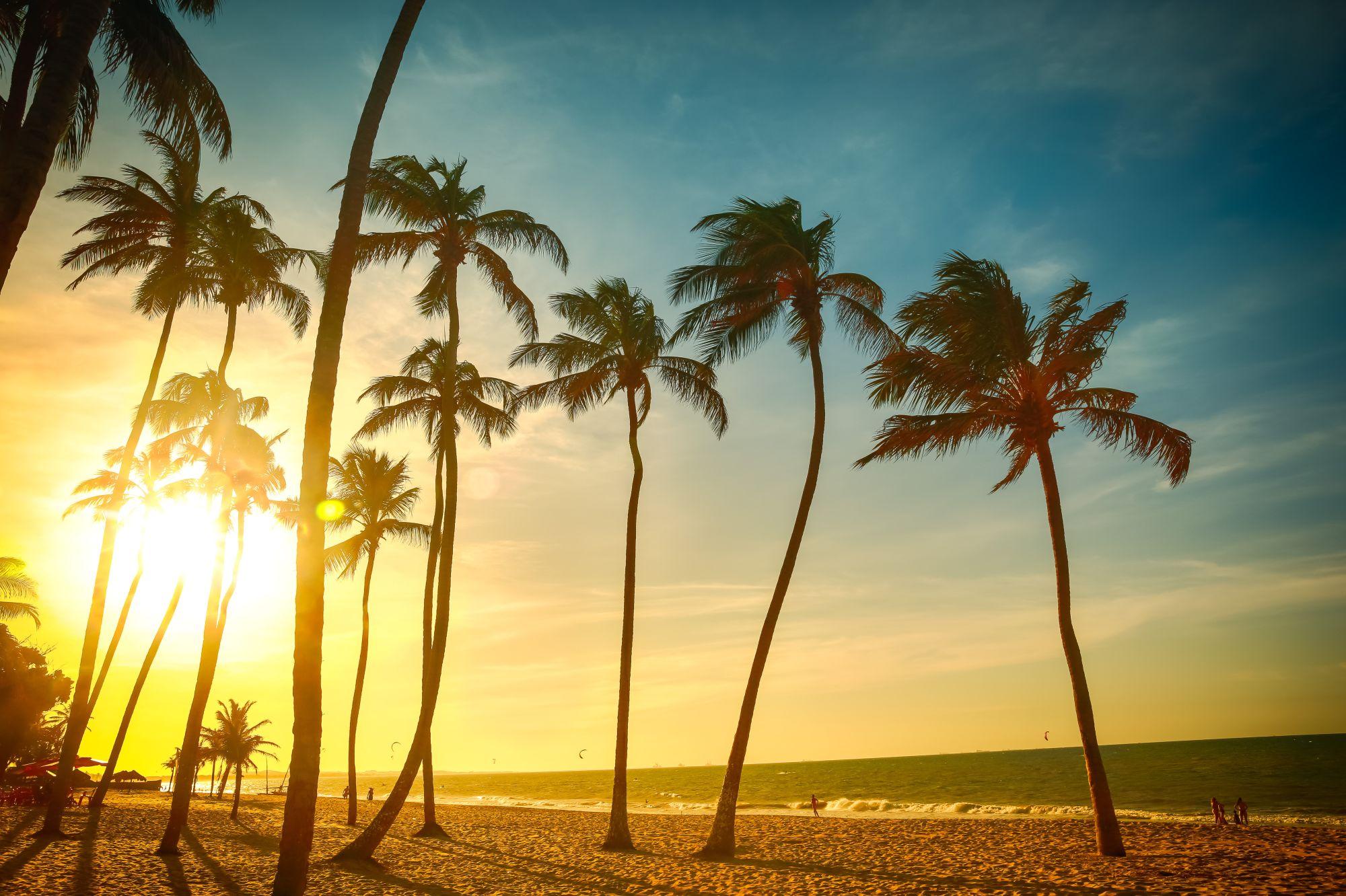 Fortaleza widok plaży