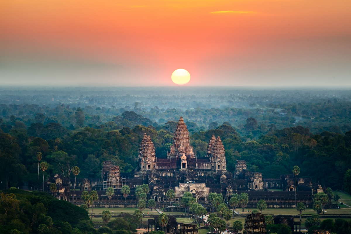 kambodza angkor wat