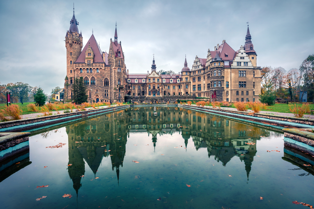 Zamek w Polsce