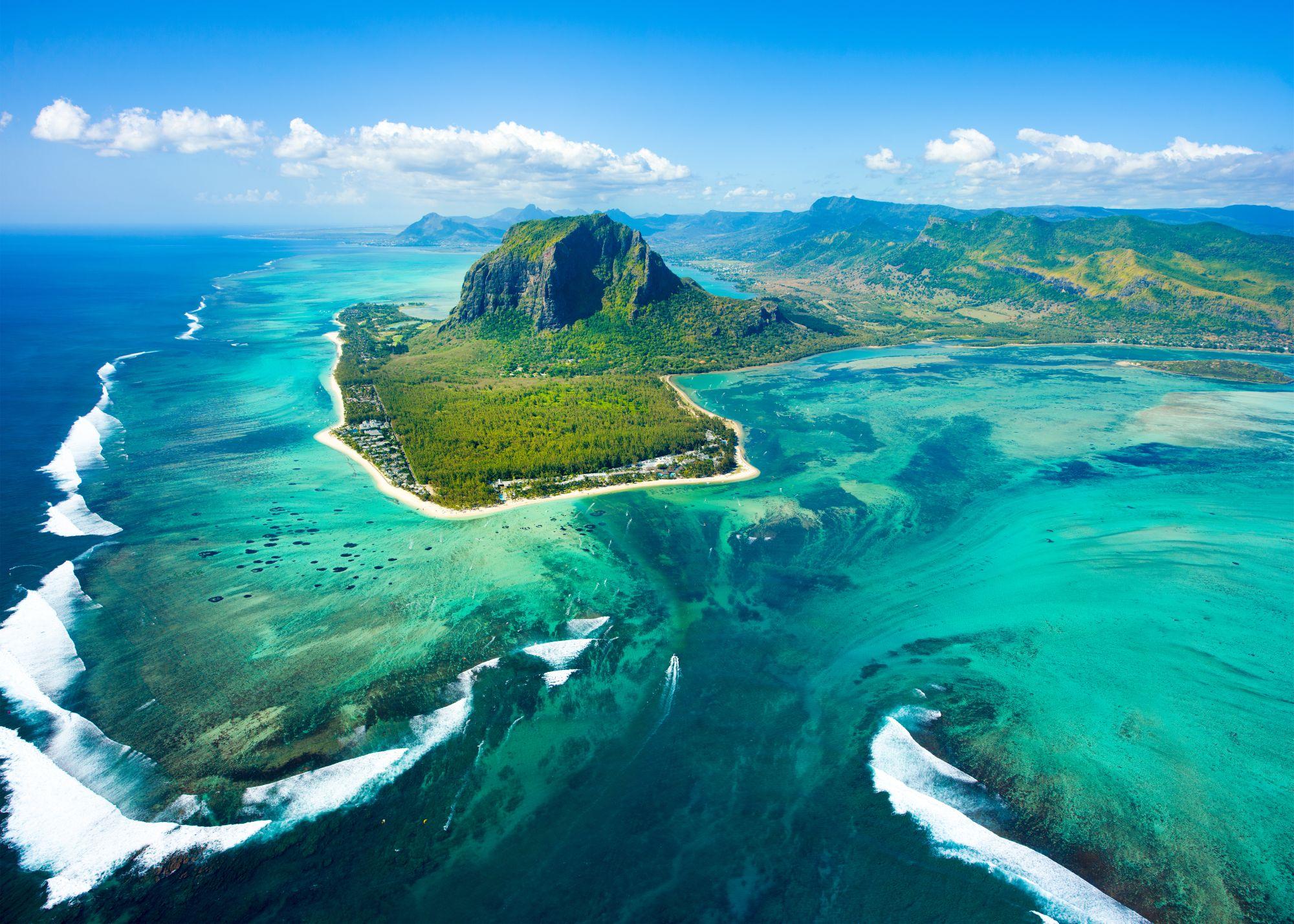 Mauritius panorama wyspy
