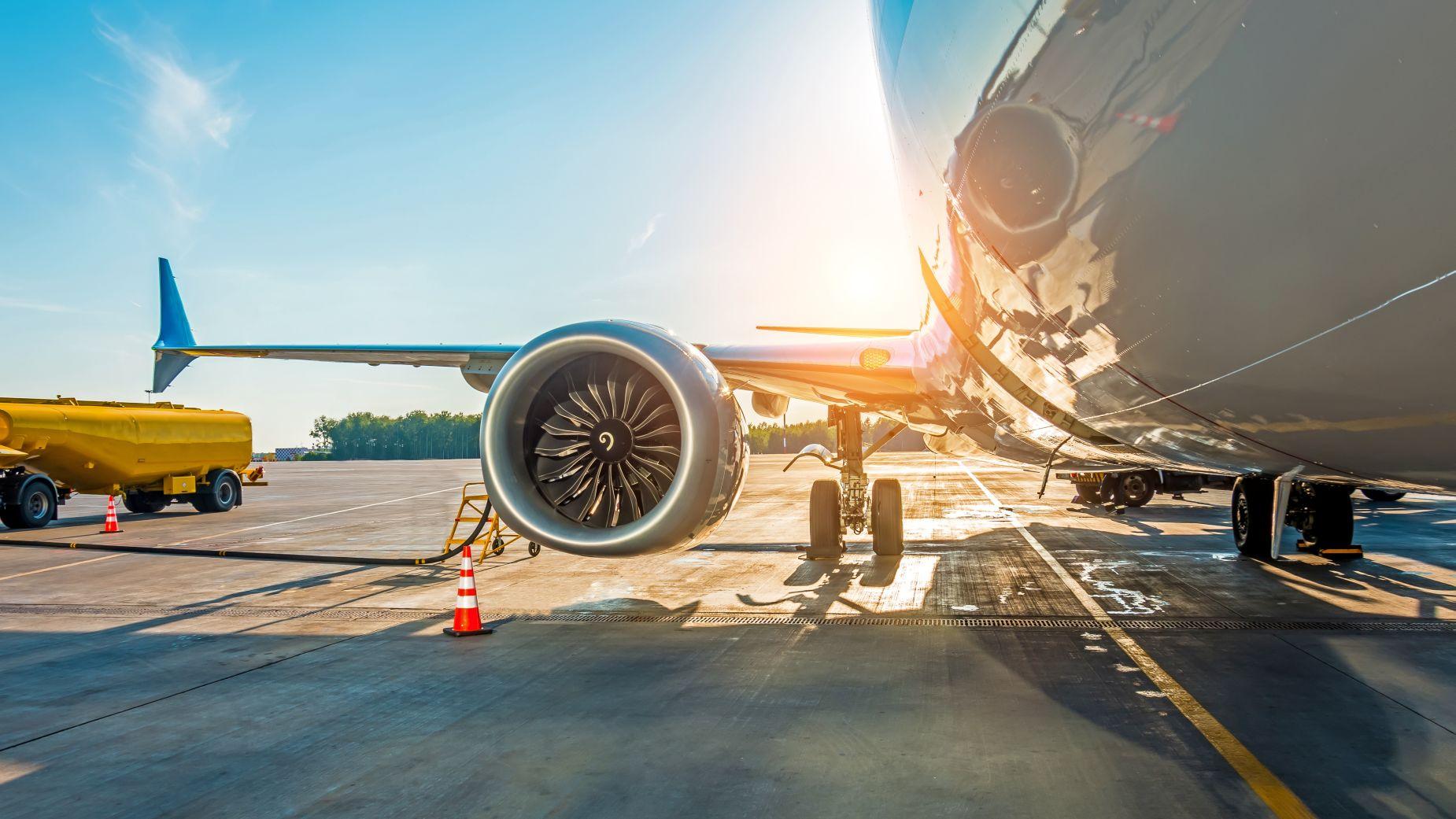 Tankowanie samolotu