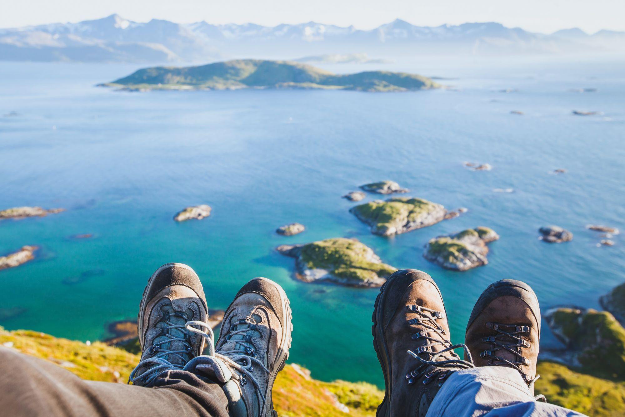 Widok fiordów