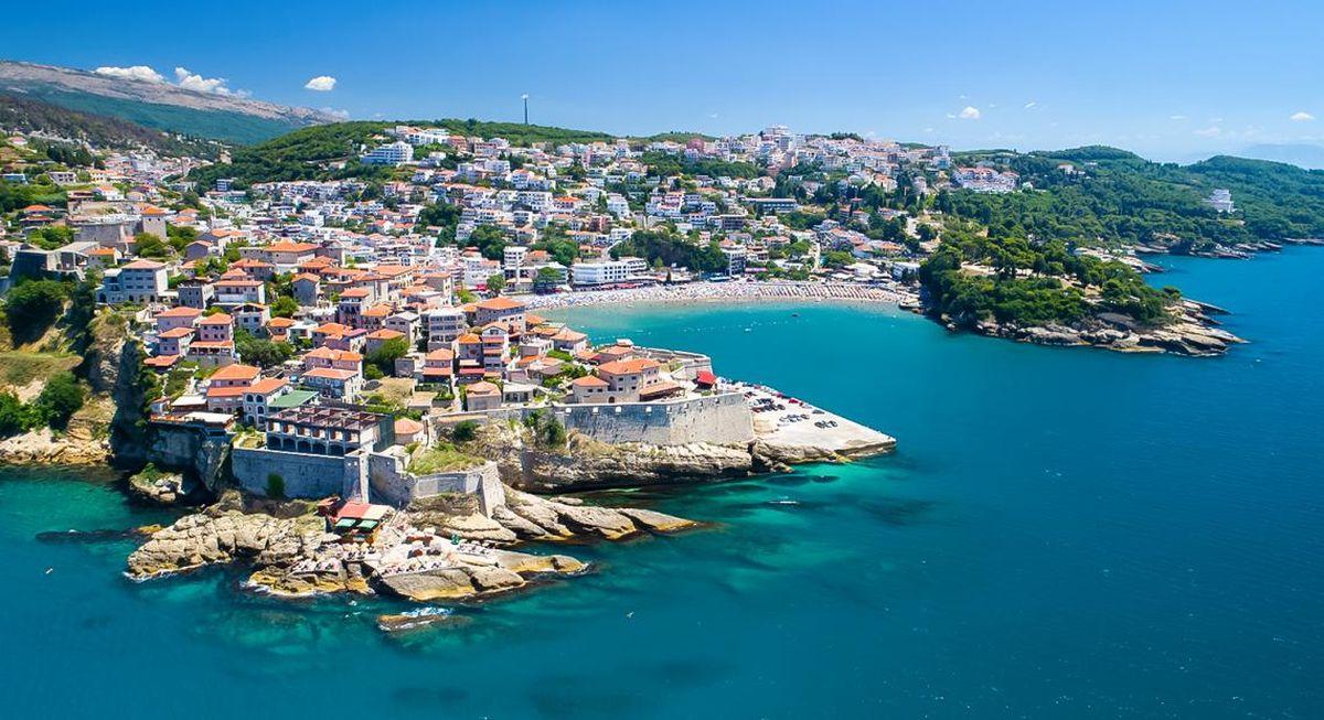 Czarnogóra widok wybrzeża