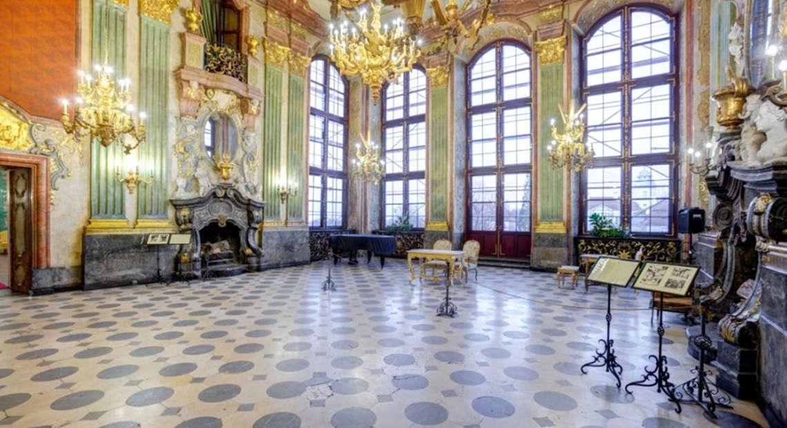 Wnętrze zamku