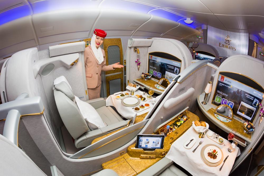 pierwsza klasa emirates