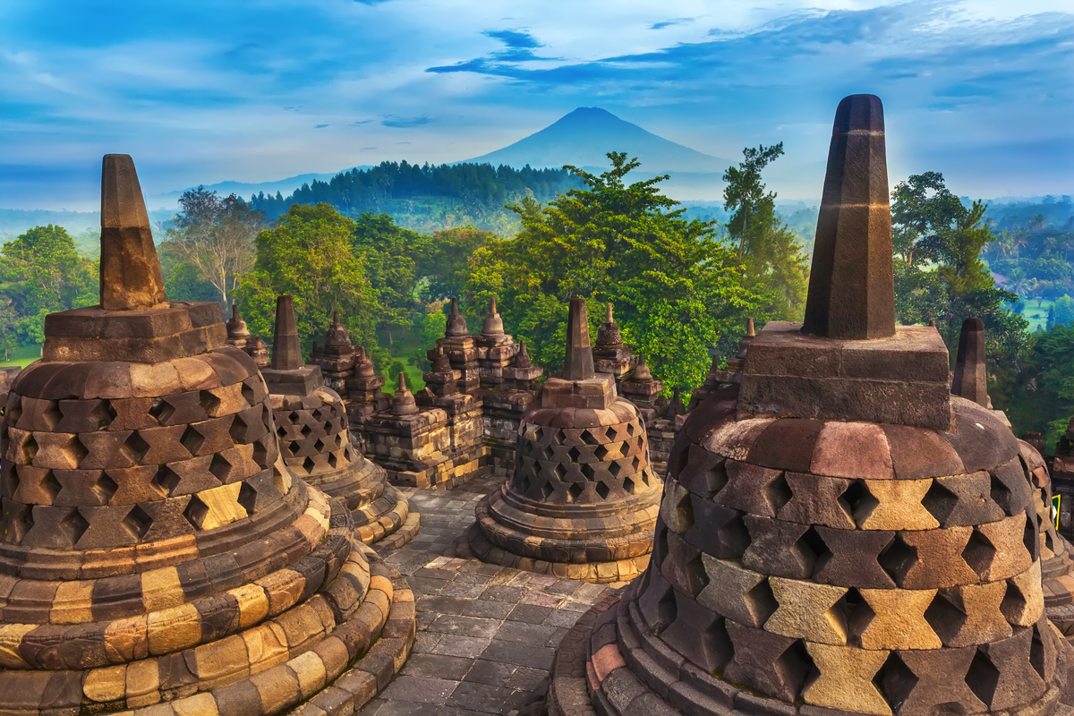 Indonezja Borobudur