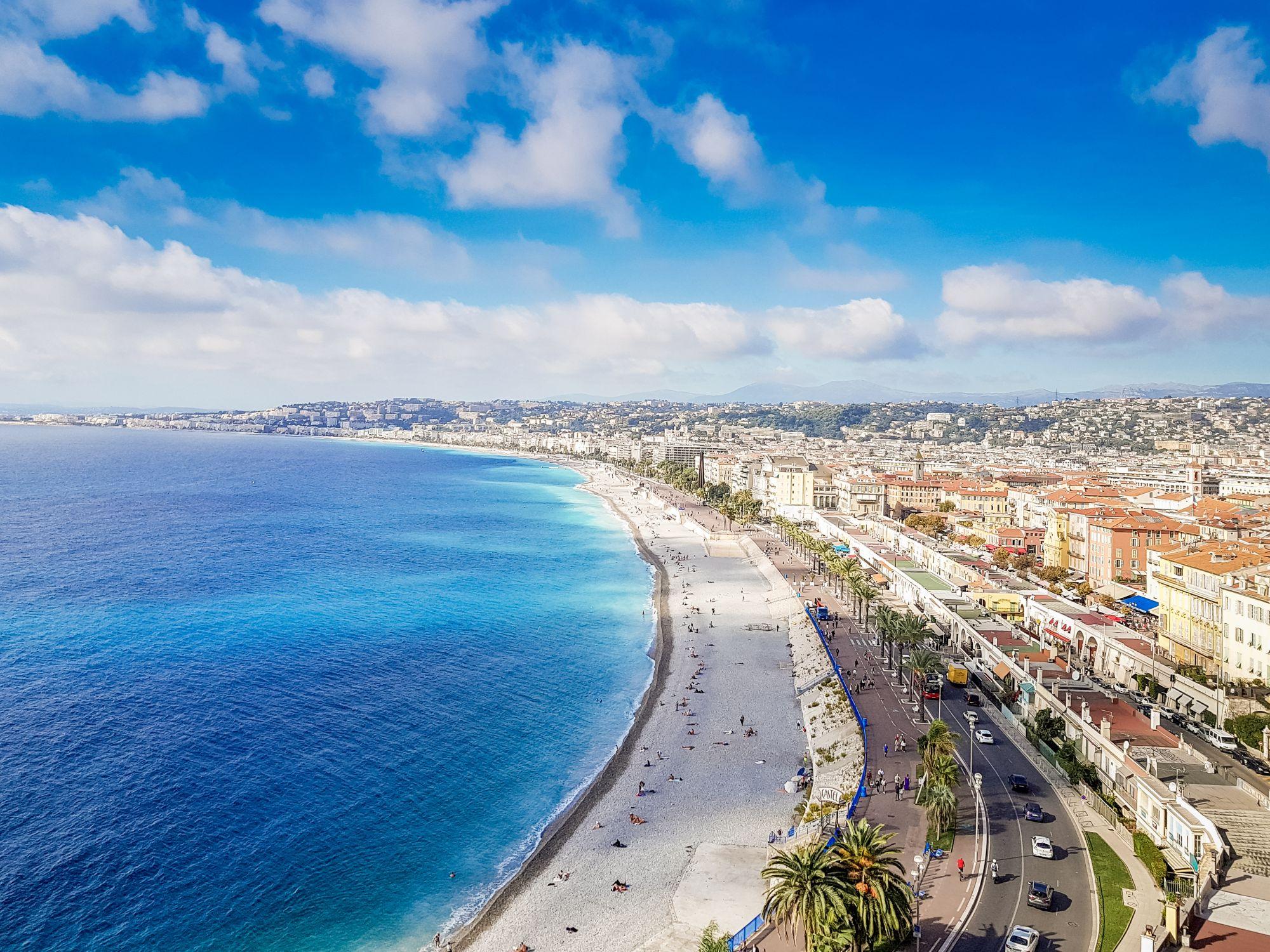 Nicea widok wybrzeża