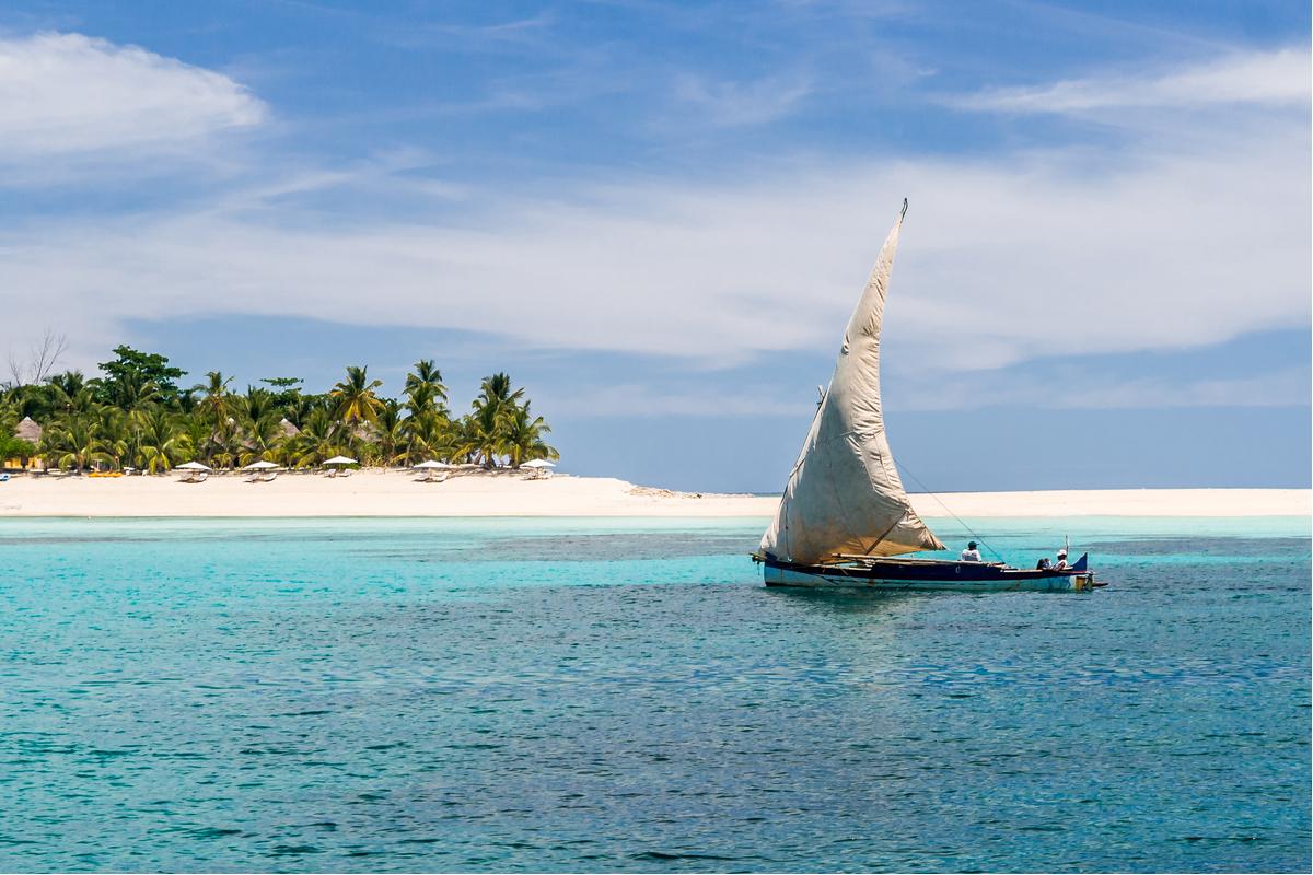 zatoka na Madagaskarze