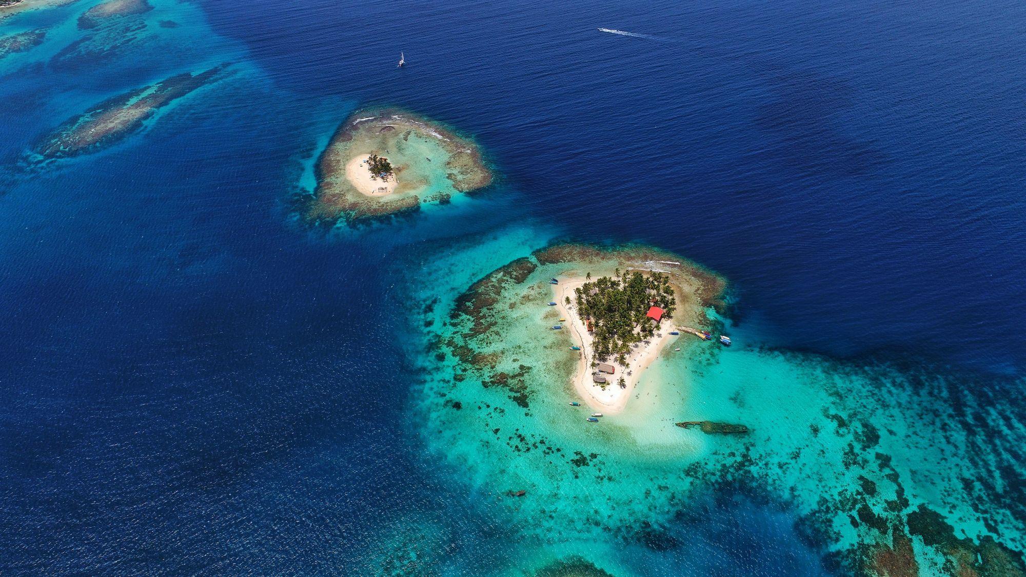 Panama widok wysp