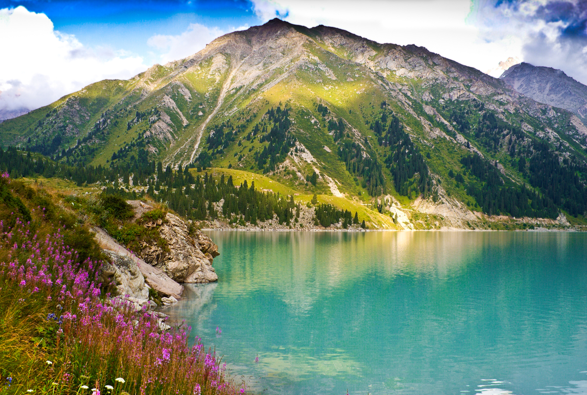 jezioro almaty