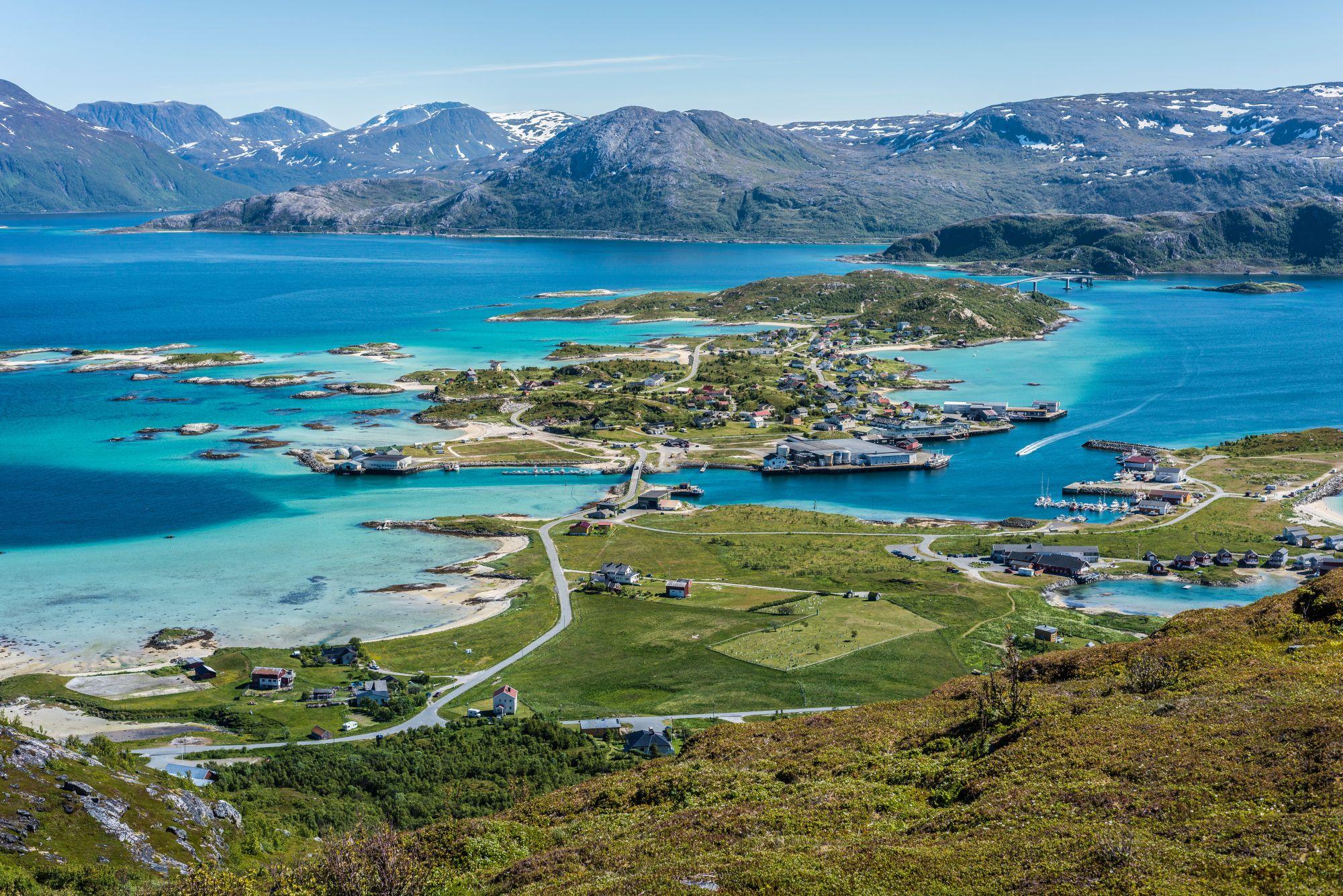 Tromso panorama fiordów
