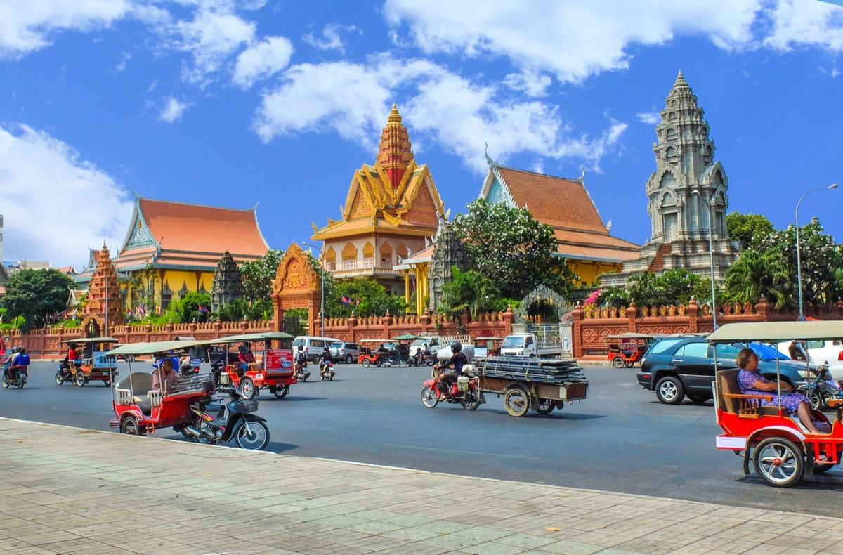 kambodza widok na miasto