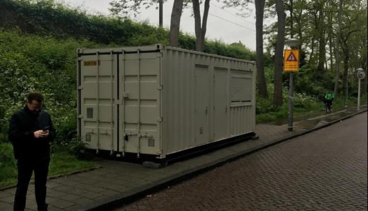 kontener amsterdam