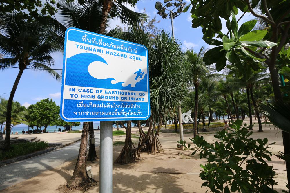 tsunami znak