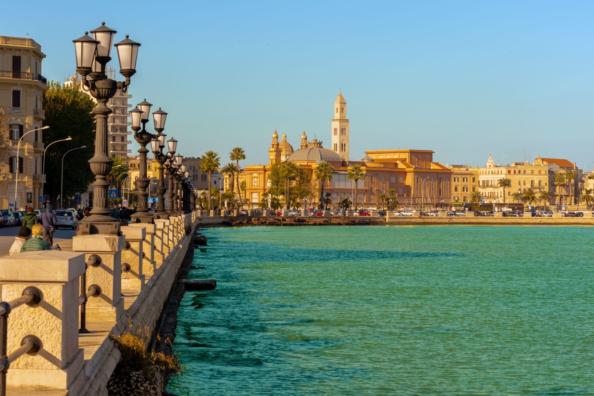 Wybrzeże w Bari