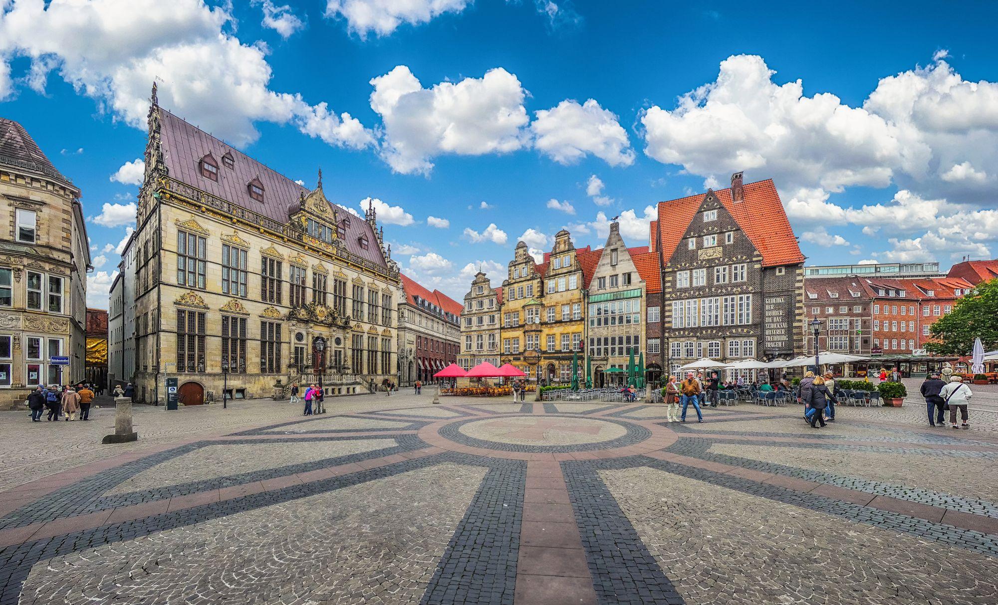 Rynek w Bremie