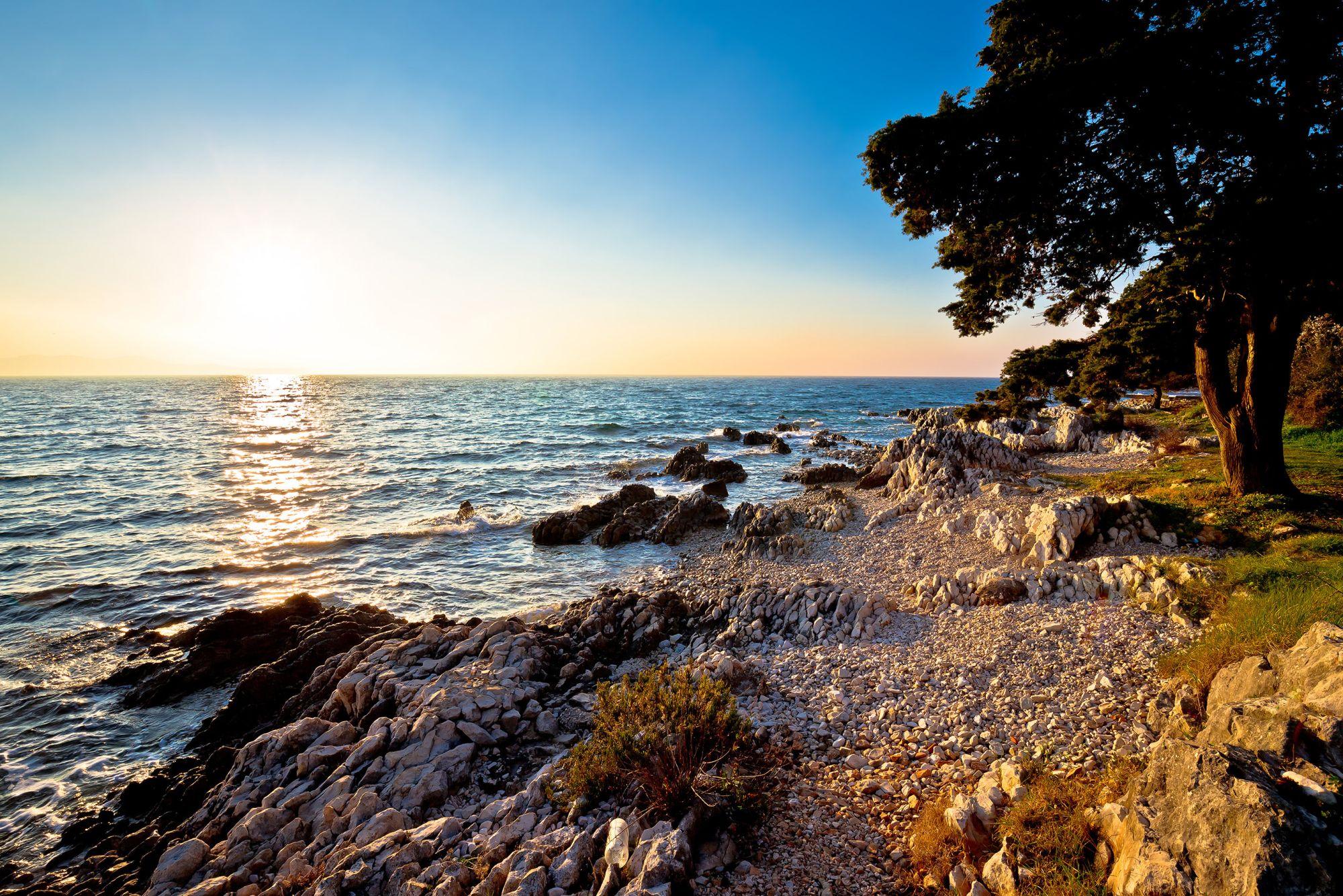 Chorwacja widok plaży