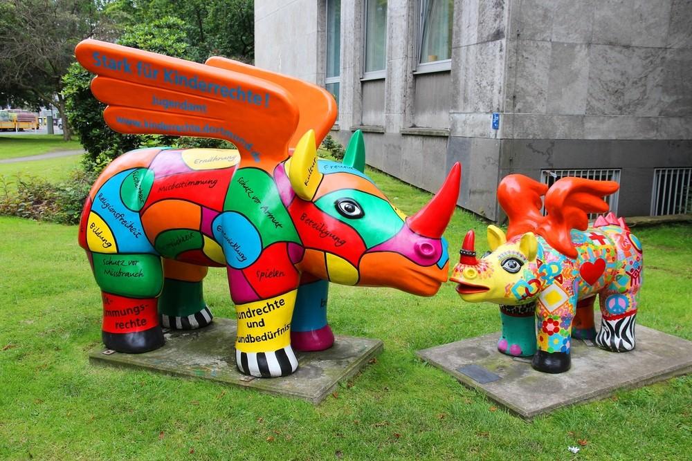 Nosorożce w Dortmundzie