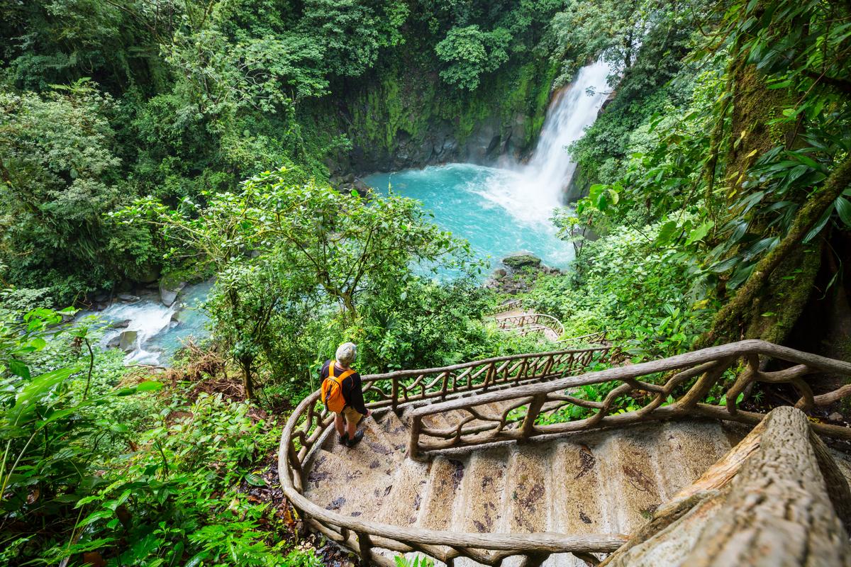 most linowy w Kostaryce