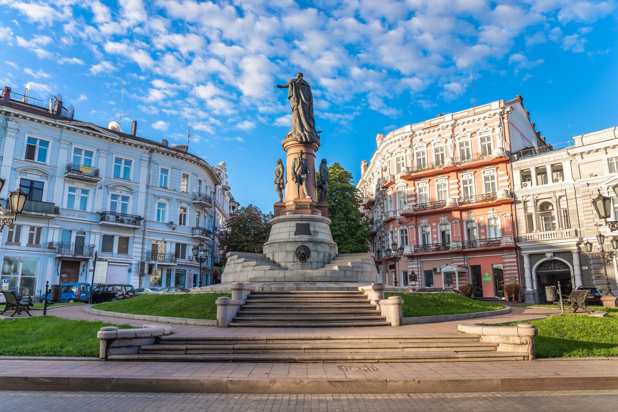 Odessa plac i kamienice