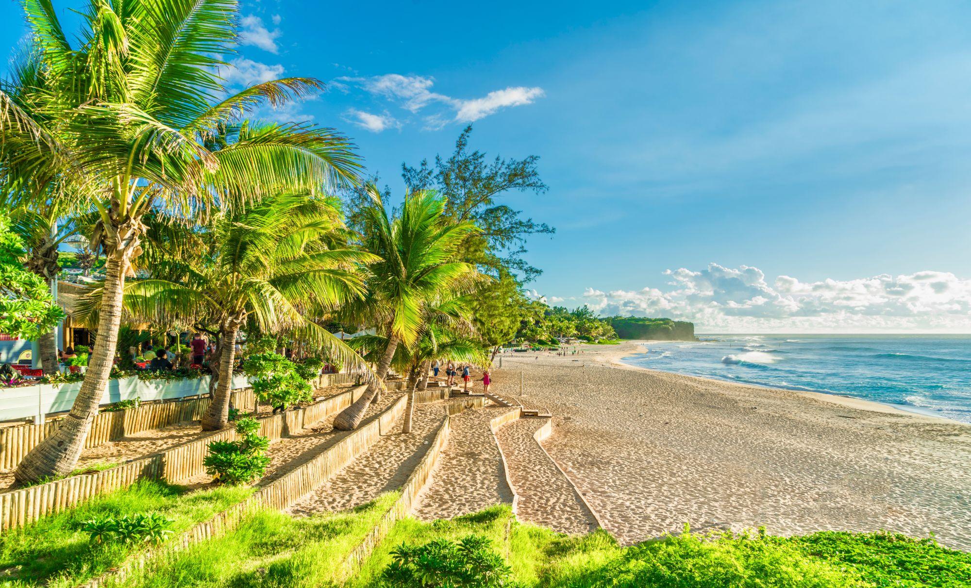 Reunion plaża