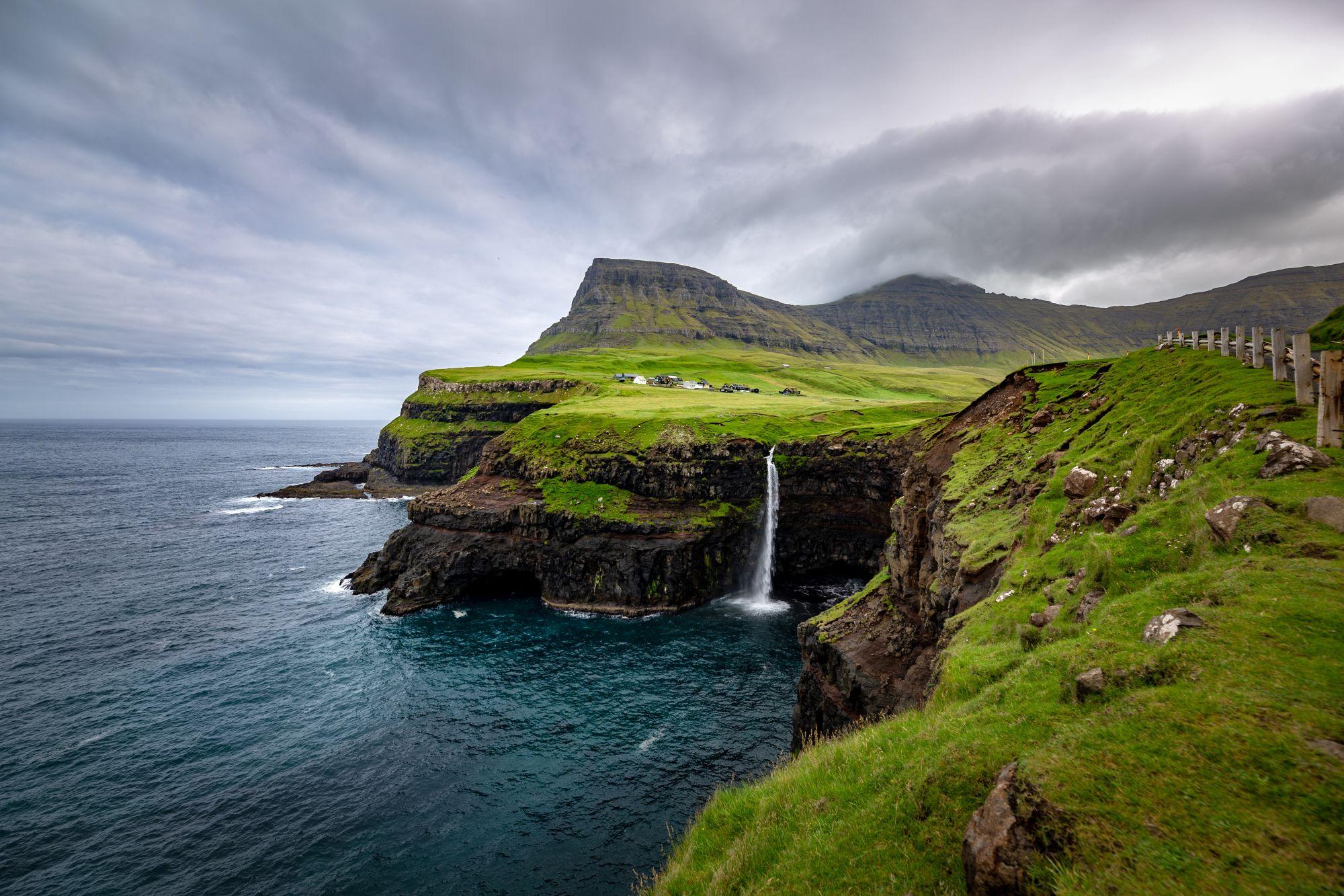 Wodospad na Wyspach Owczych