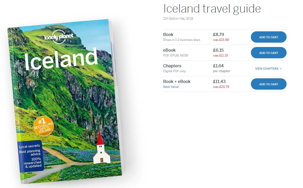 Lonely Planet zamówienie