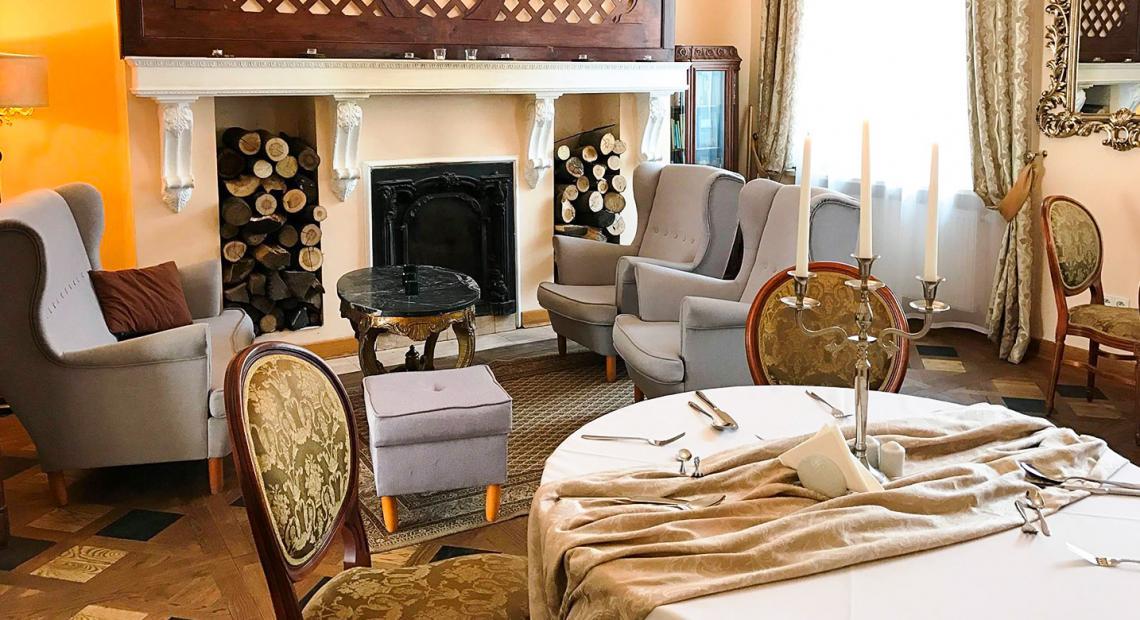 Salon w pałacu