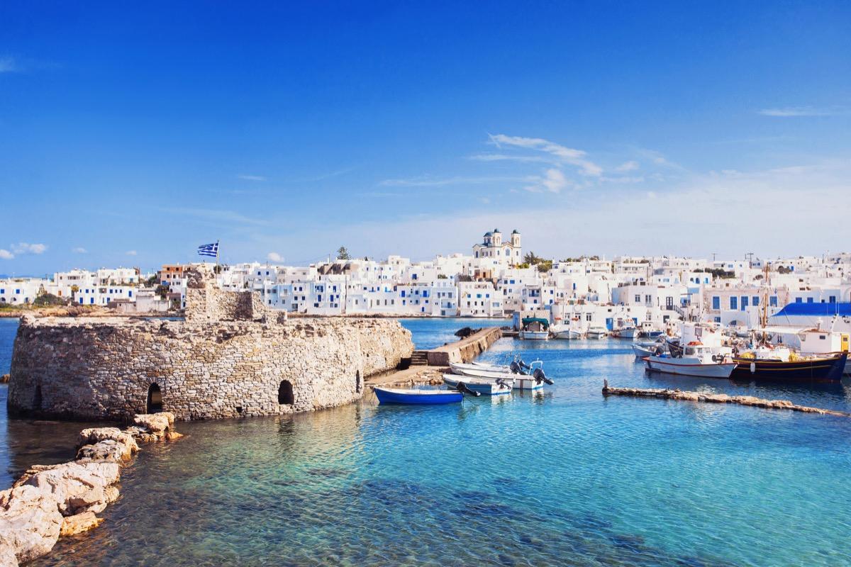 paros cyklady grecja