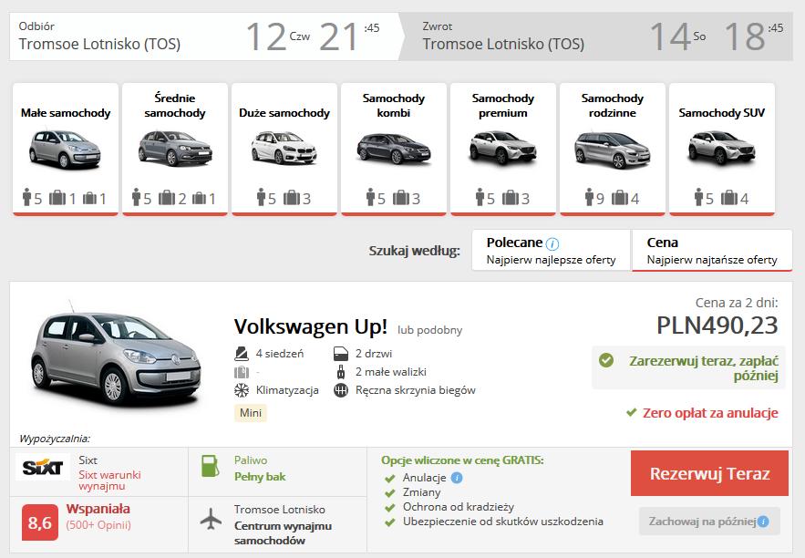 Tromso auto