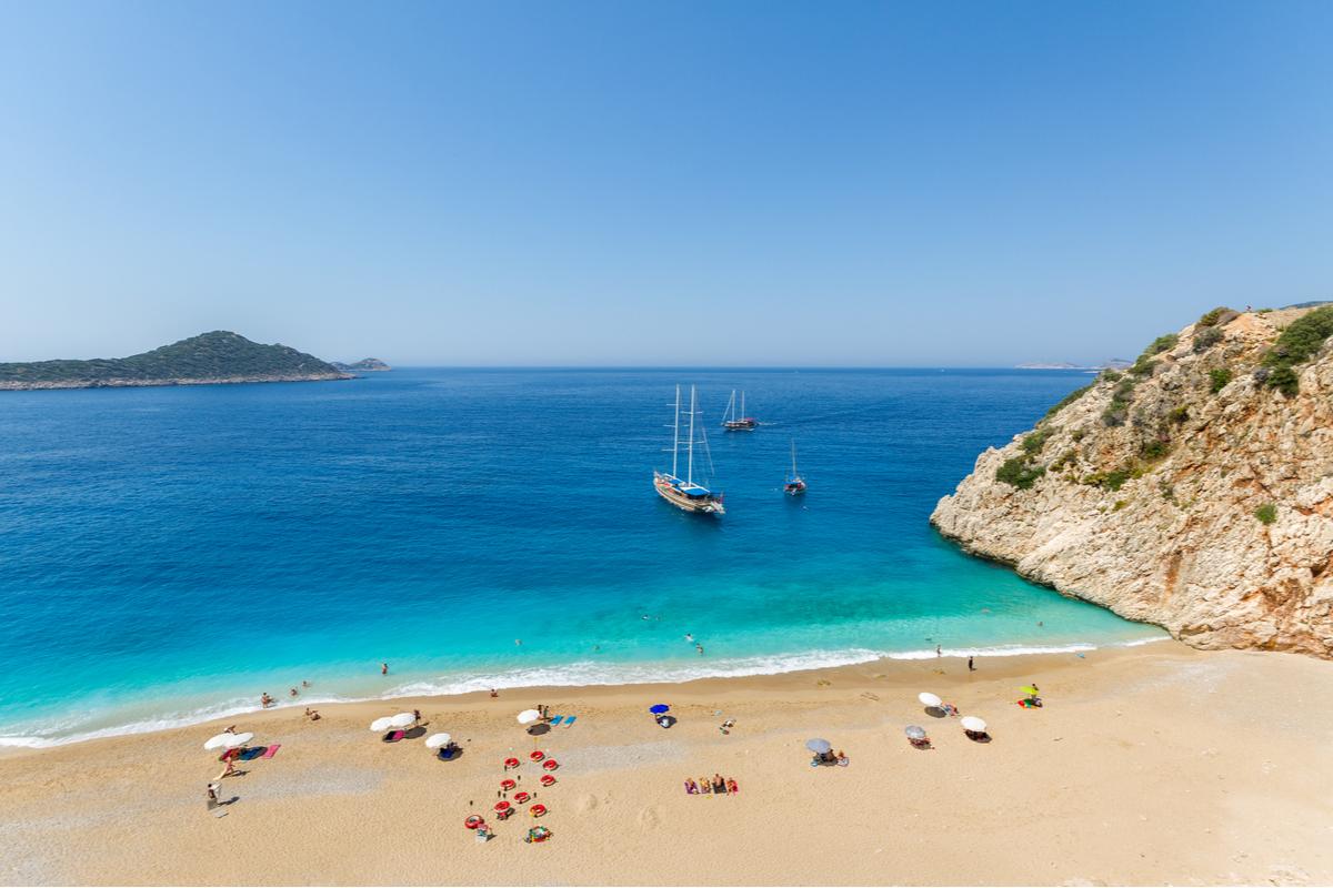 plaża w Turcji