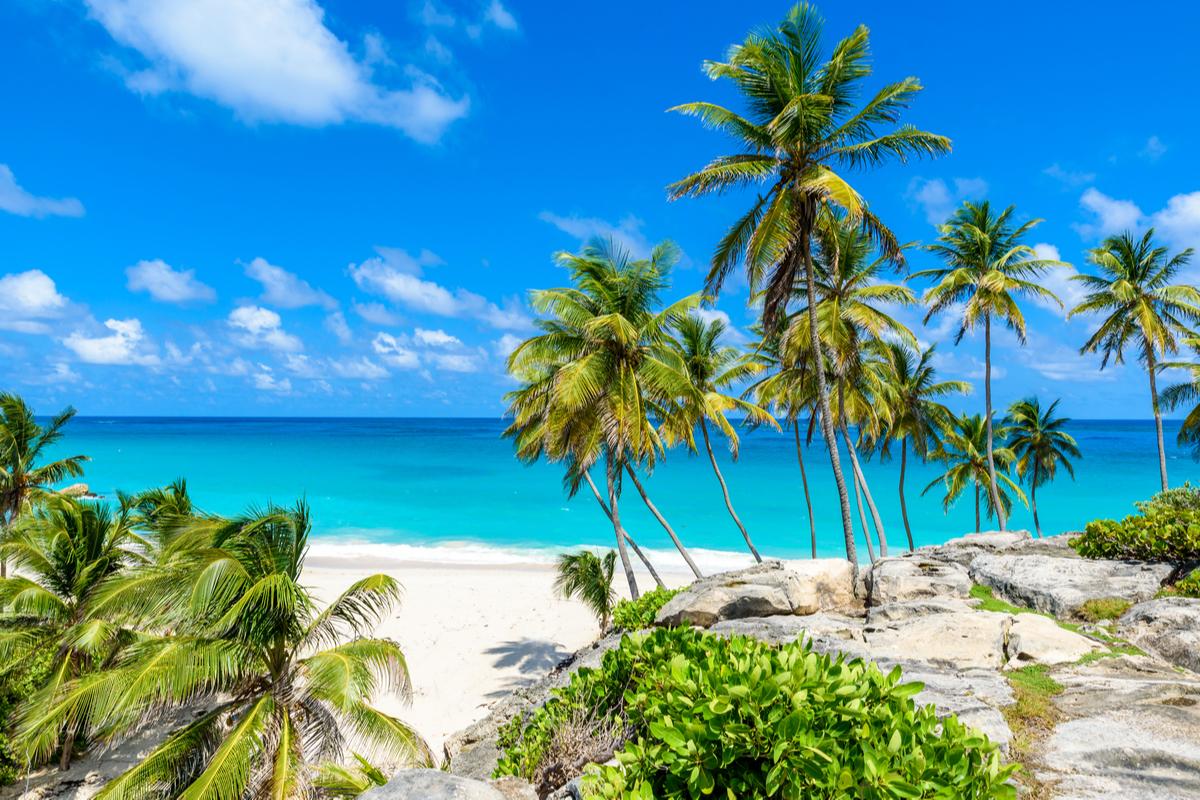 Barbados plaża